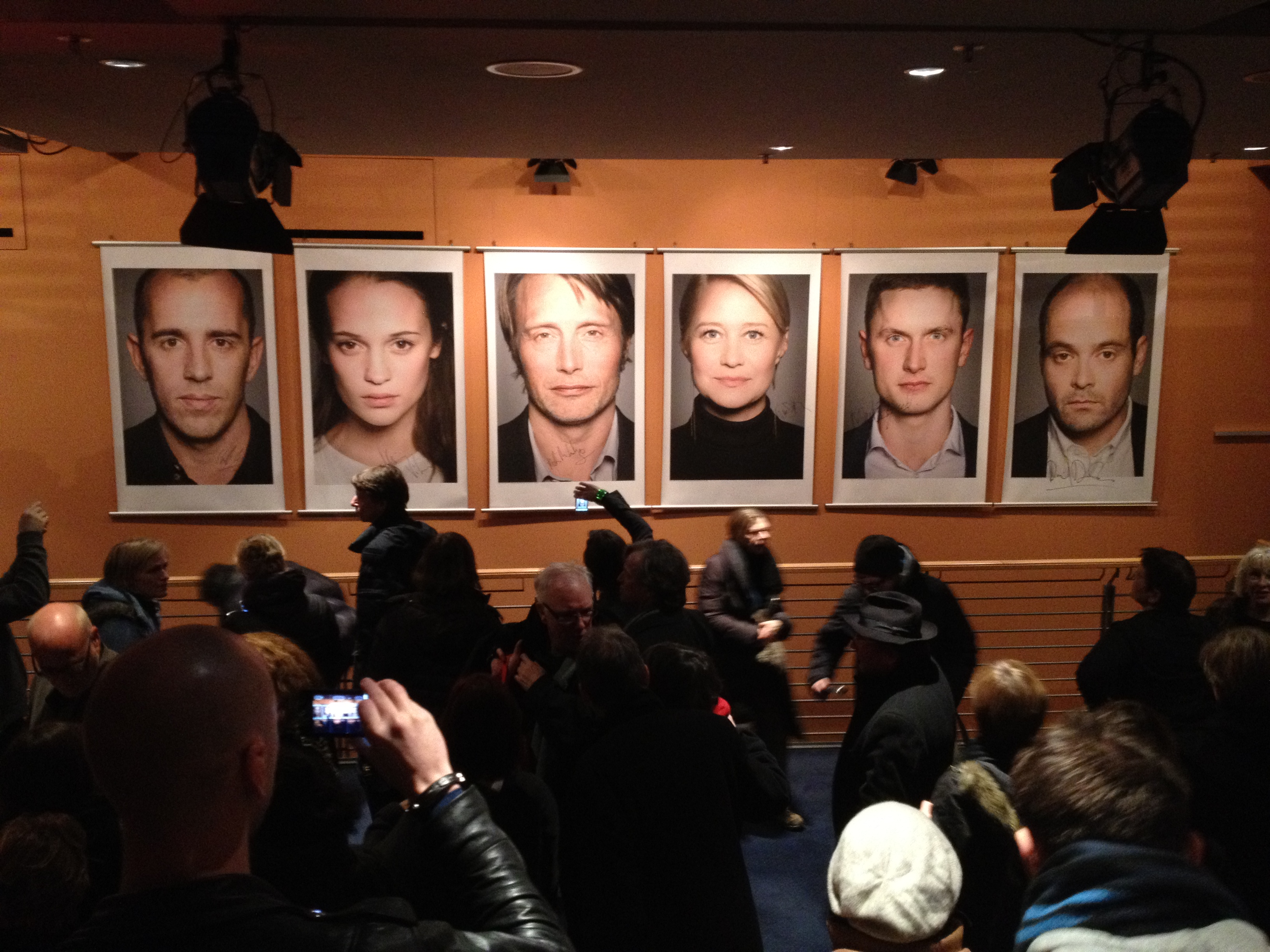 """The opening of """"A Royal Affair"""" in Berlin"""